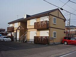 栃木県宇都宮市台新田1丁目の賃貸アパートの外観