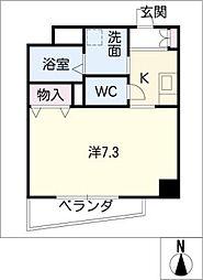 矢木楽器店本社ビル[6階]の間取り