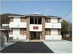 兵庫県加東市天神の賃貸アパートの外観