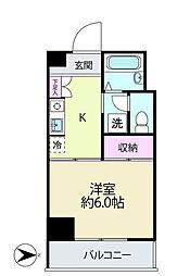 K.C.B.神台[2階]の間取り