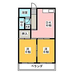 昇佑ビル[2階]の間取り