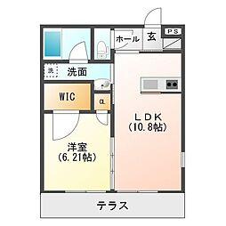 クレアージュI棟[1階]の間取り