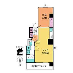 ヴァンテアン大須[7階]の間取り