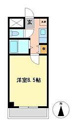 エクセルコジマ2[2階]の間取り