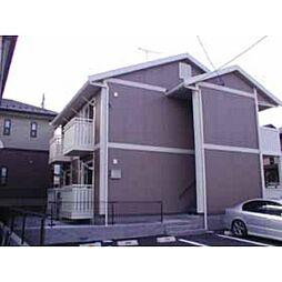 福島県郡山市緑町の賃貸アパートの外観