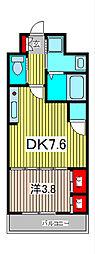 アクシーズタワー川口VIII[1階]の間取り