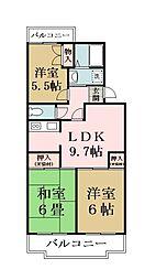 TOWAハイネス[4階]の間取り