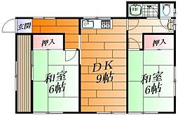 [一戸建] 大阪府茨木市蔵垣内3丁目 の賃貸【/】の間取り