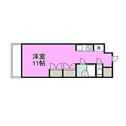 セリオ21[4階]の間取り