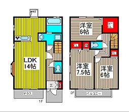 [タウンハウス] 埼玉県さいたま市南区大字円正寺 の賃貸【/】の間取り