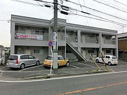愛知県名古屋市緑区黒沢台4丁目の賃貸アパートの外観