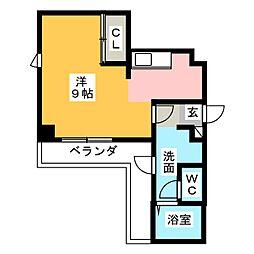 メゾンドール[7階]の間取り