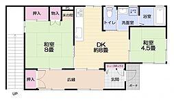 森崎アパート[1号室]の間取り