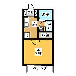 FACILITY浅田[2階]の間取り