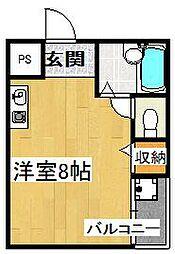 グランホーム四条畷[2階]の間取り