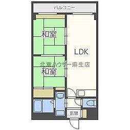 林崎ビル[3階]の間取り