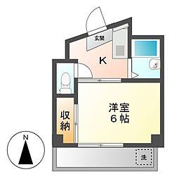 小川マンション[3階]の間取り