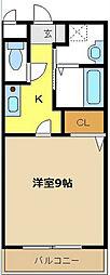 愛知県名古屋市天白区天白町大字八事字裏山の賃貸マンションの間取り