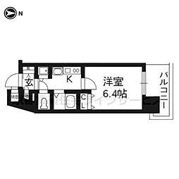 プレサンス京都駅前千都301[3階]の間取り