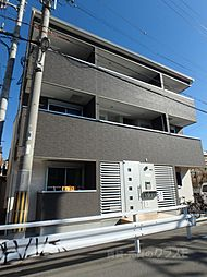 大阪府大阪市住吉区千躰2の賃貸アパートの外観