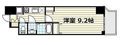 クリスタルグランツ心斎橋EAST[9階]の間取り