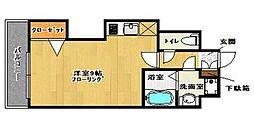 ピュアドーム博多ルネサンス[8階]の間取り