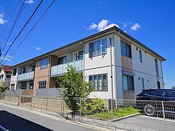 奈良県奈良市青野町2丁目の賃貸アパートの外観