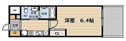 エスリード野田阪神駅前[8階]の間取り