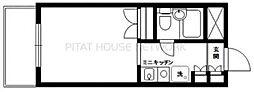 est porte(エストポルト)[3階]の間取り