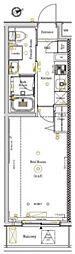 AXAS北池袋[1階]の間取り