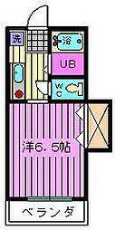 グランデュールメルヘン[2階]の間取り