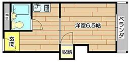 山崎第8マンション[2階]の間取り
