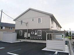 富山県富山市新庄町4丁目の賃貸アパートの外観