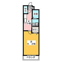 インフィニティ[3階]の間取り