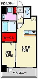 仮)弥永5丁目マンション[208号室]の間取り