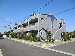 茨城県ひたちなか市大字武田の賃貸アパートの外観