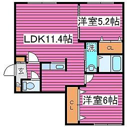 ソライエ N36[4階]の間取り