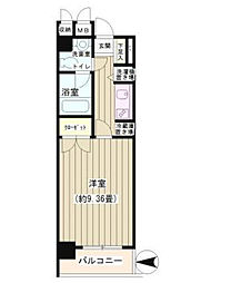 NONA PLACE渋谷神山町[107号室]の間取り