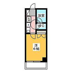 静岡ロイヤルヴェッセル[4階]の間取り