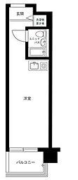 東京都品川区旗の台1の賃貸マンションの間取り
