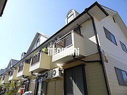 パームデールA棟B棟[2階]の外観