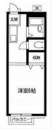 フォーミラーコート[1階]の間取り