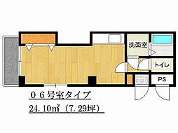 兵庫県姫路市飾磨区付城1の賃貸マンションの間取り
