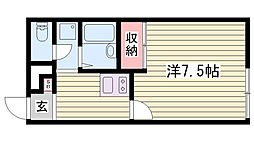 西江井ヶ島駅 4.4万円