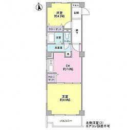 トミクラVI[3階]の間取り