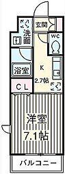 KDXレジデンス用賀(旧プリモレガーロ用賀)[2階]の間取り