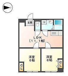 第3泰水堂ビル[3階]の間取り