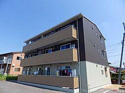 三重県四日市市大字西阿倉川の賃貸アパートの外観