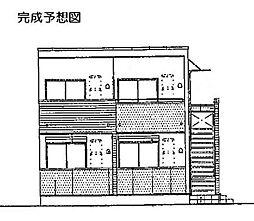 ラピュタテラスB[2階]の外観