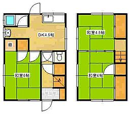 [一戸建] 広島県広島市東区温品4丁目 の賃貸【/】の間取り